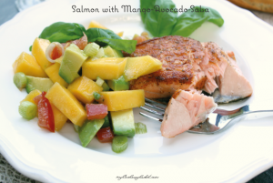 mango salsa mango avocado salsa salmon with blueberry mango salmon ...