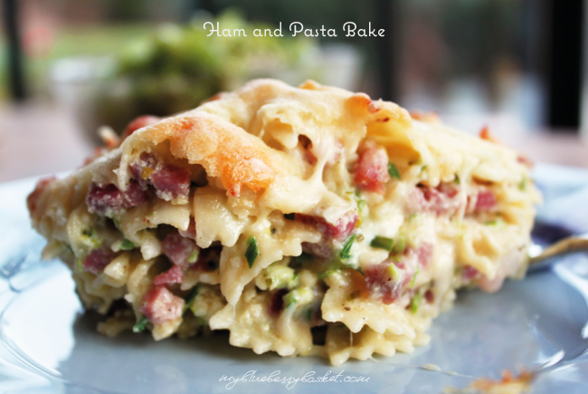 Ham and pasta bake austrian style my blueberry basket photo of ham and pasta bake forumfinder Images