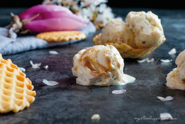 photo macadamia ice cream