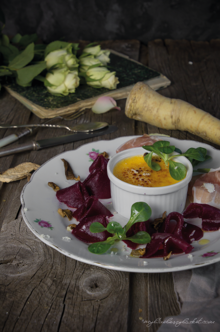 photo beetroot carpaccio