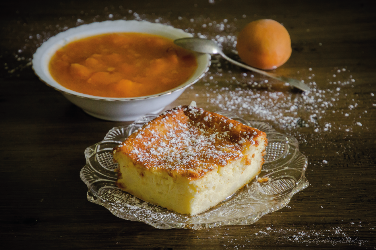 Awesome Curd Cheese And Semolina Pudding With Apricot Preserve Download Free Architecture Designs Intelgarnamadebymaigaardcom
