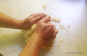 photo how to make a double crust pastry