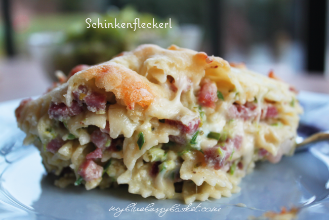 photo of ham-pasta bake