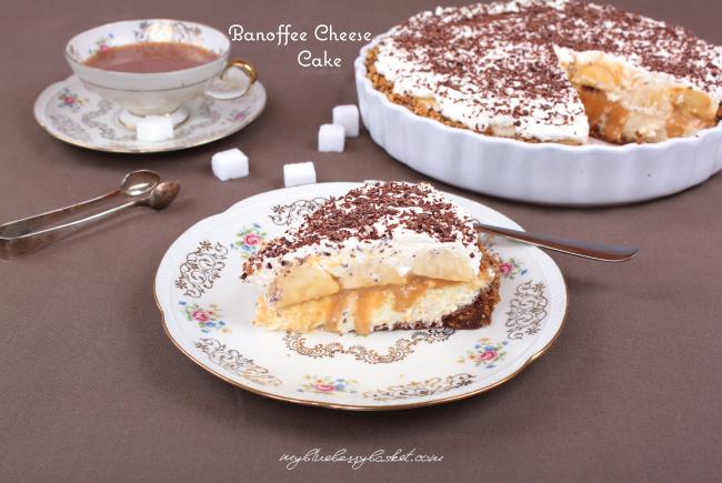 photo of banoffee cheesecake