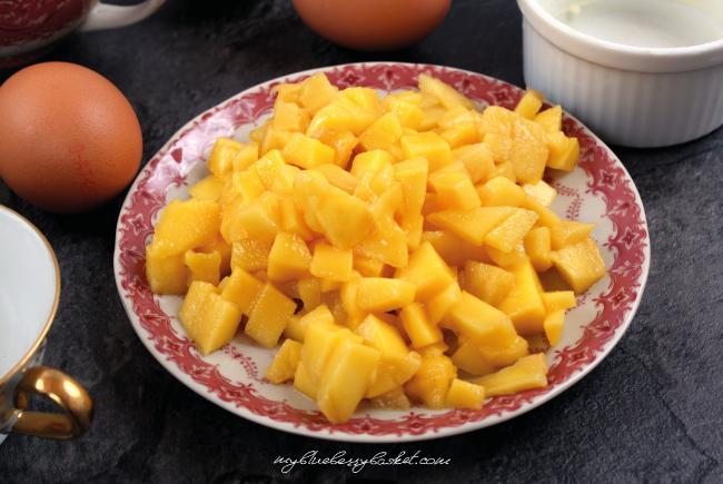 Mango Soufflé - Ingredients