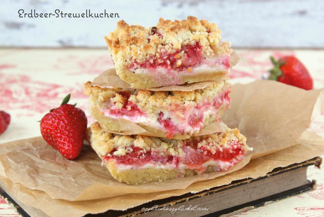 Foto von Erdbeer-Streuselkuchen