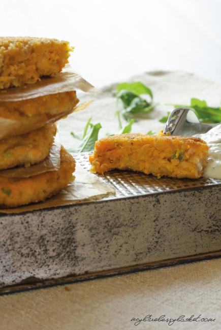 Salmon and Sweet Potato Patties