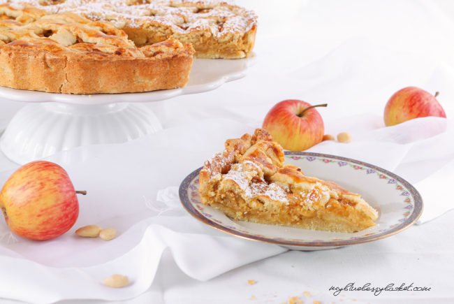 photo apple-almond tarte