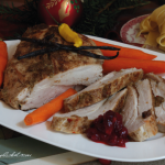 photo turkey breast with ginger and vanilla