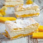 Foto Mango-Cremeschnitten
