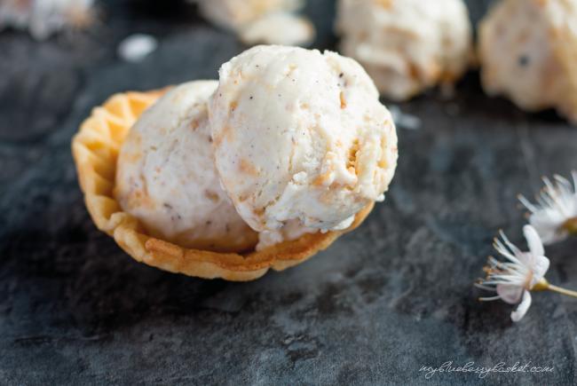 Macadamia-Eis