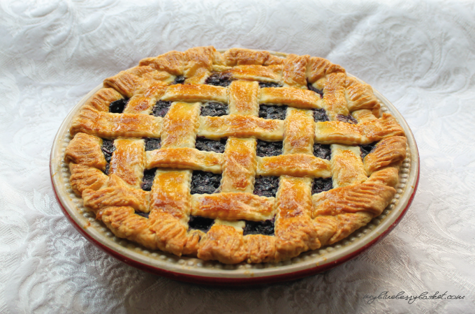 Foto Blueberry Pie