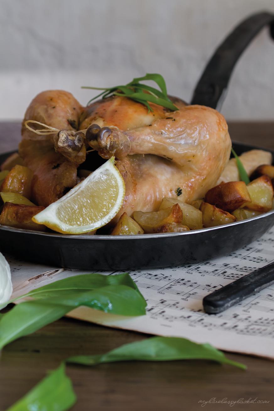 Foto von Bärlauch-Zitronen-Huhn