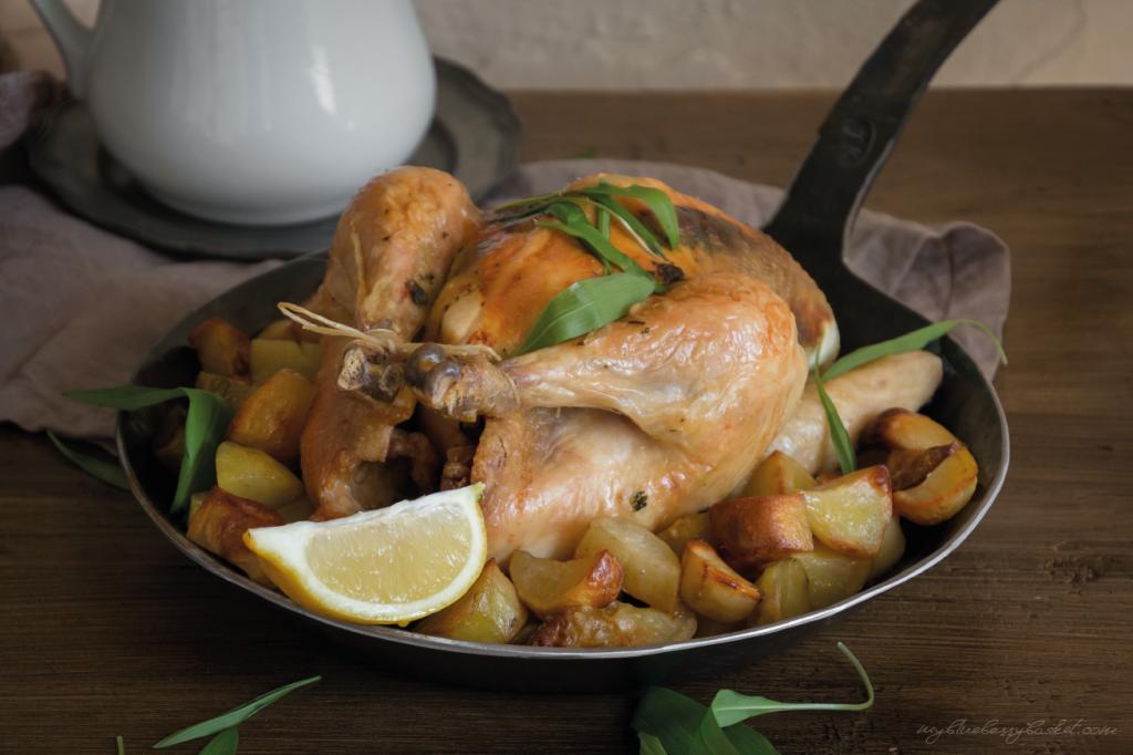 Bärlauch-Zitronen-Huhn